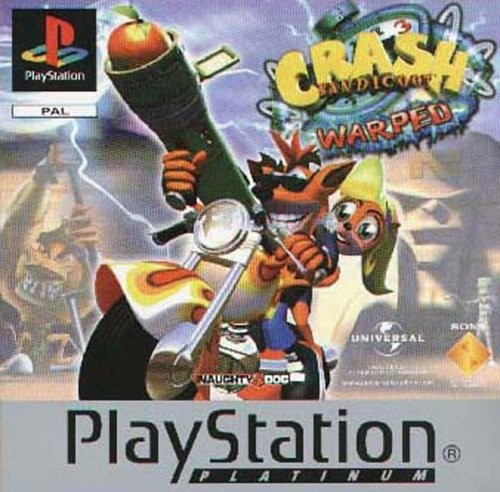 Crash Bandicoot 3 Warpes (Platinum Edition) PS1 Fun Game Playstation 1