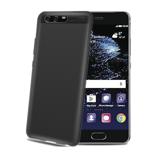 Celly Gelskin Cover Case Schutzhülle HUAWEI P10 black