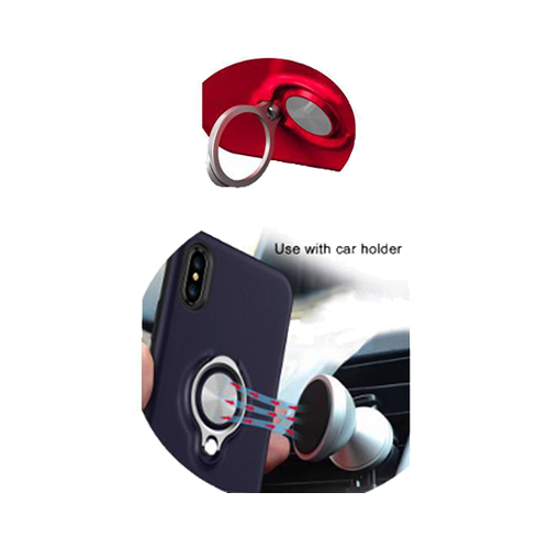 Handy Case Schutzhülle Back Cover Ring mit Magnet Samsung Galaxy S9