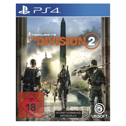 Sony Playstation 4 PS4 Spiel Tom Clancy's The Division 2 (USK 18)