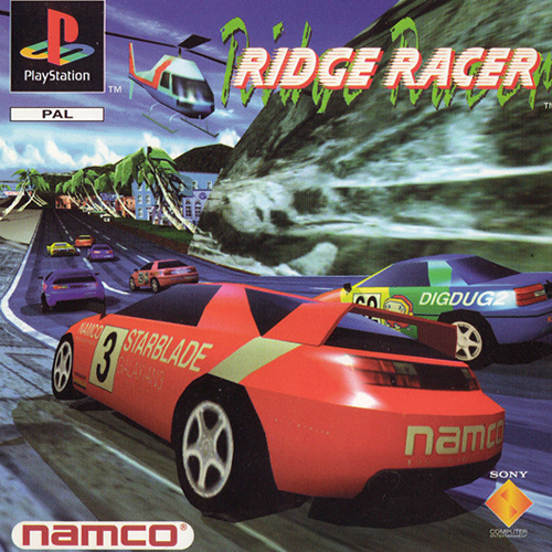 Ridge Racer ps1 Spiel Fun Videogame Playstation 1