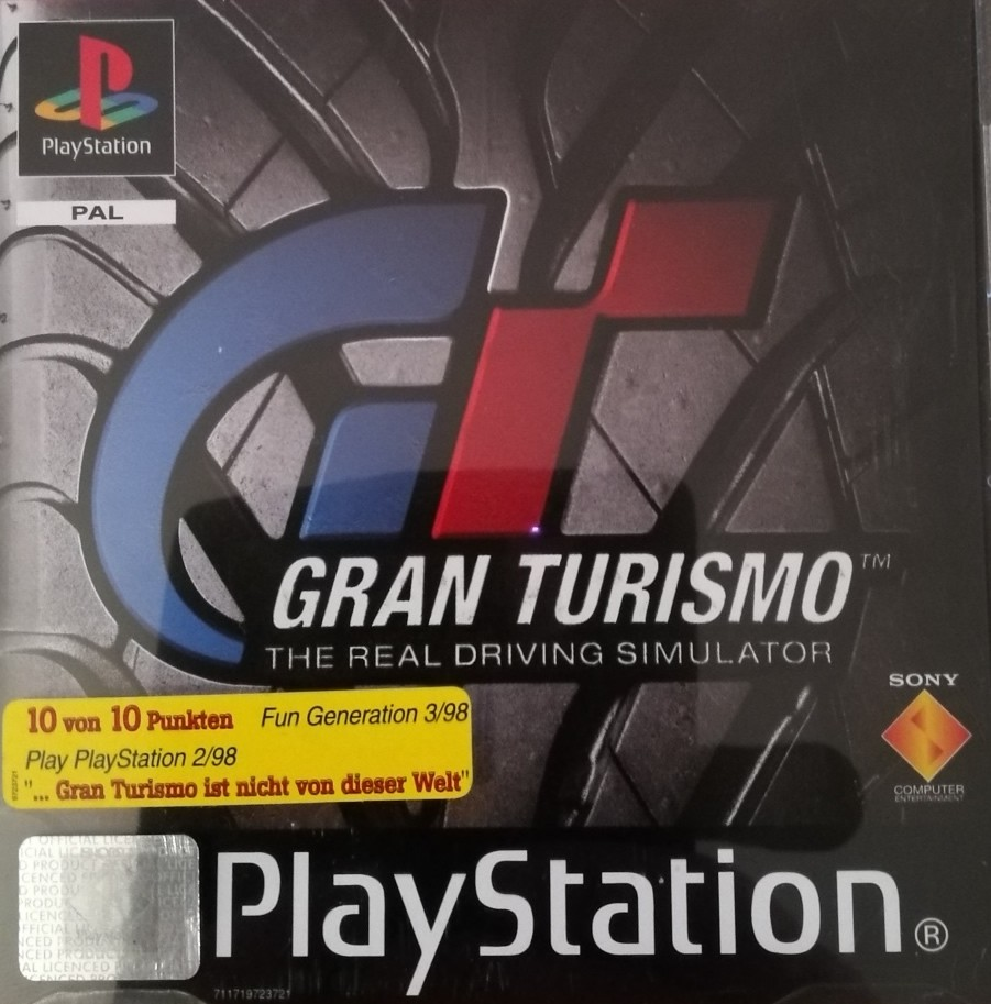 Grand Turismo PS1 Fun Game Playstation 1