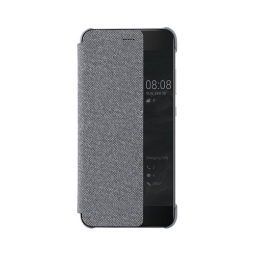 HUAWEI Flip Cover Case Schutzhülle P10 Plus light grey