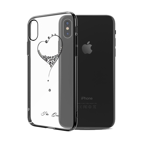KINGXBAR Deluxe Swarovski® Hard Case for iPhone X 4 Farben