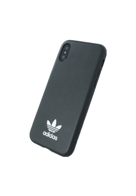 Adidas - Moulded - Hardcover - Apple iPhone X in Schwarz