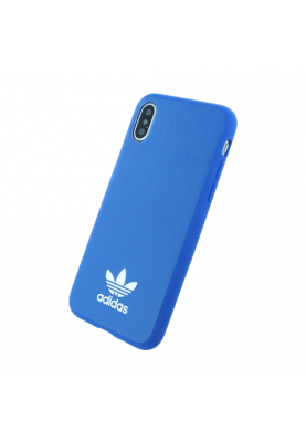 Adidas - Moulded - Kunstleder Hardcover - Apple iPhone X in Blau
