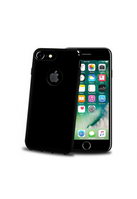 Celly Gelskin Cover Schutzhülle Apple iPhone 7 Plus/8 Plus black (Black Edition)