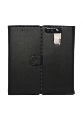 Celly Wally Book-Cover Case für Huawei P9 black
