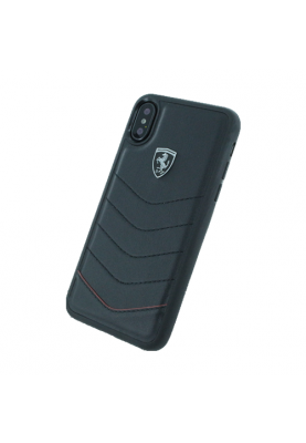 Ferrari - Heritage Quilted - Leder Hardcover - Apple iPhone X