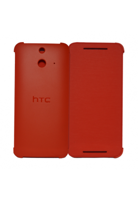 HTC HC V980 Case Cover Schuzt Hülle Flip Case für One (E8) red