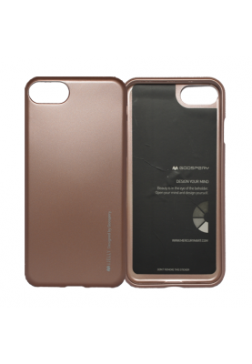 i-Jelly Softcase Mercury Schutzhülle für iPhone 7 in roségold