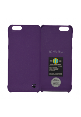 Krusell Case Cover Schutz Hülle Malmö Hardcover für Apple iPhone 6 lila
