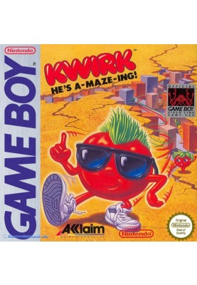 Kwirk Er ist verwirrend Gameboy Fun Game