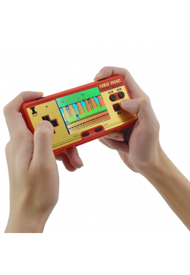 Data Frog Handheld Retro TV Spielkonsole Pocket Game Fun Controller 138 Spiele