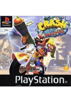 Gebraucht Crash Bandicoot 3 Warpes PS1 Fun Game Playstation 1
