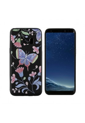 Samsung Galaxy S8/ S8 Plus Soft Tasche Cover 3D Schmetterling Butterfly Motiv