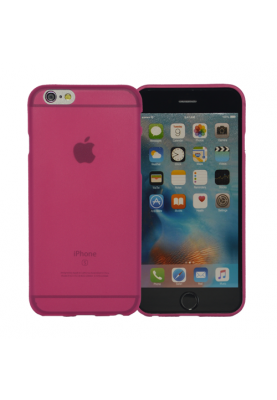 Spada Case Cover Schutz Hülle Softcase Ultra Slim für Apple iPhone 6 pink