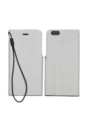 xqisit Folio Case Book Case Cover Schutzhülle Tijuana iPhone 6 weiß